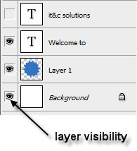 Photoshop Layer Visibility