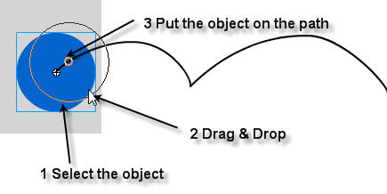 Set Object on Path (Motion Guide) in Flash CS4